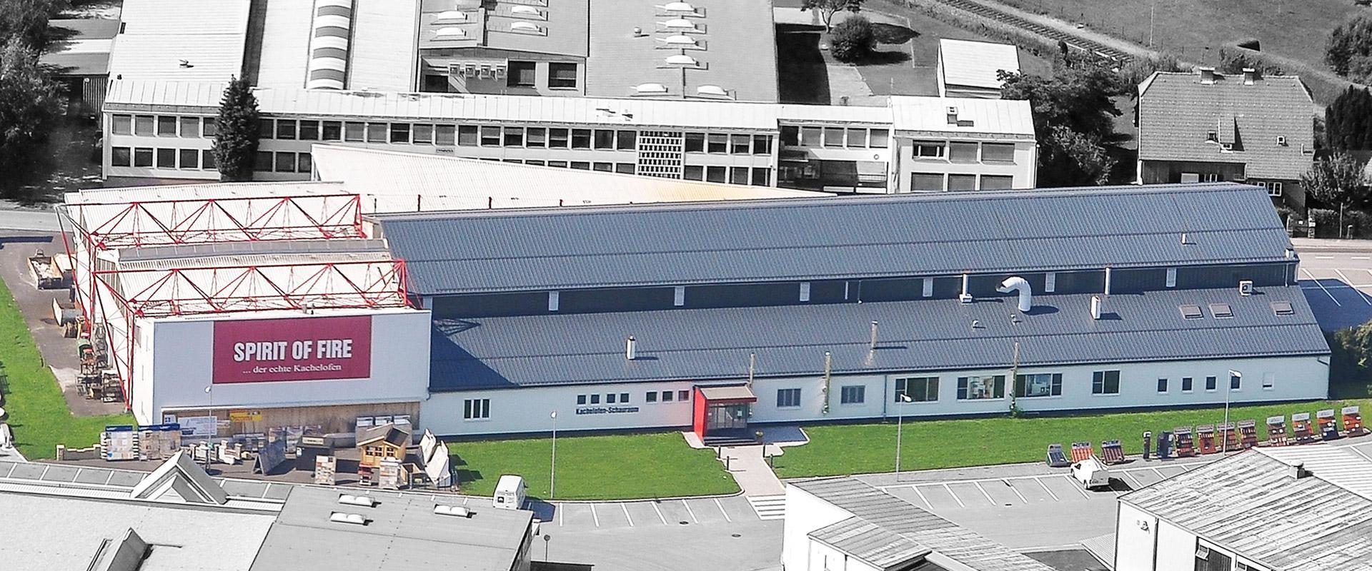 Luftbild Unternehmen Scheibelhofer - Werk in Fürstenfeld